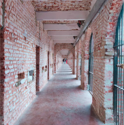 Cellular Jail Long Cell Galley View