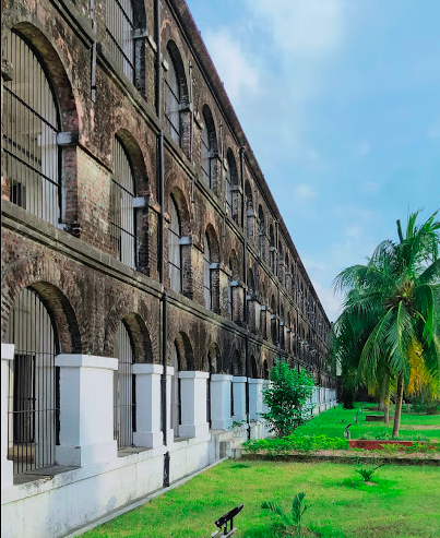 Cellular Jail Side View