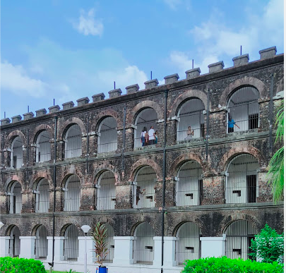 Cellular Jail Front View